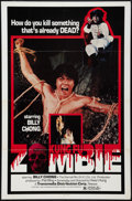 "Movie Posters:Action, Kung Fu Zombie Lot (Transmedia, 1982). One Sheets (3) (27"" X 41""). Action.. ... (Total: 3 Items)"