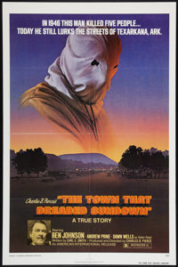 """The Town That Dreaded Sundown Lot (American International, 1977). One Sheet (2) (27"""" X 41""""). Thriller. ... (To..."""