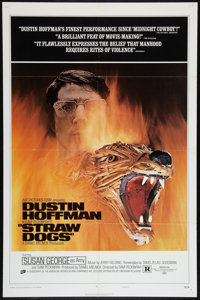 "Straw Dogs (Cinerama Releasing, 1972). One Sheet (27"" X 41""). Style D. Crime"