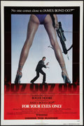 "Movie Posters:James Bond, For Your Eyes Only (United Artists, 1981). One Sheet (27"" X 41"").Advance. James Bond.. ..."