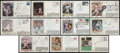 Baseball Collectibles:Others, Baseball Hall of Famers Signed First Day Covers Lot of 15....