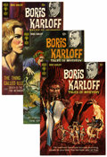 Silver Age (1956-1969):Horror, Boris Karloff Tales of Mystery File Copies Group (Gold Key,1967-79) Condition: Average VF/NM.... (Total: 47 Comic Books)