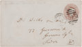 Autographs:Inventors, Charles Darwin Envelope Addressed in His Hand. The controversialauthor of On the Origin of...