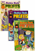 Bronze Age (1970-1979):Cartoon Character, Richie Rich Profits #1-47 Group (Harvey, 1974-82) Condition: Average NM-.... (Total: 113 Comic Books)