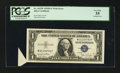 Error Notes:Attached Tabs, Fr. 1613W $1 1935D Wide Silver Certificate. PCGS Very Fine 35.. ...