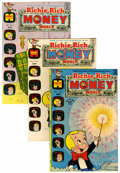 Bronze Age (1970-1979):Cartoon Character, Richie Rich Money World #1-59 Group (Harvey, 1972-82) Condition:Average NM-.... (Total: 113 Comic Books)