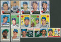 Baseball Collectibles:Others, Brooklyn Dodgers Great Signed Cards Lot Of 15. ...