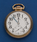Timepieces:Pocket (post 1900), Illinois 21 Jewel, 60 Hour Bunn Special Pocket Watch. ...