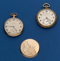 Timepieces:Pocket (post 1900), Two - 17 Jewel, 12 Size South Bend 411, Illinois Forum PocketWatches. ... (Total: 2 Items)