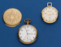 Timepieces:Pocket (post 1900), Two Running Pocket Watches. ... (Total: 2 Items)