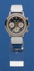 Timepieces:Wristwatch, Vulcian 3 Register Chronograph With Day/Date & MonthIndicators. ...