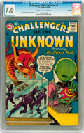 Silver Age (1956-1969):Science Fiction, Challengers of the Unknown #1 Savannah pedigree (DC, 1958) CGC FN/VF 7.0 Cream to off-white pages....