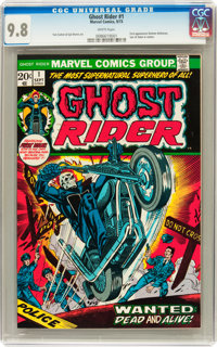 Ghost Rider #1 (Marvel, 1973) CGC NM/MT 9.8 White pages