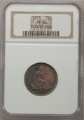 Proof Seated Quarters, 1879 25C PR64 NGC....