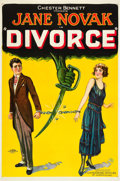 "Movie Posters:Drama, Divorce (FBO, 1923). One Sheet (27"" X 41"") Style A.. ..."
