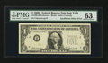 Error Notes:Inking Errors, Fr. 1905-B $1 1969B Federal Reserve Note. PMG Choice Uncirculated63.. ...