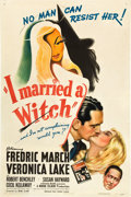 "Movie Posters:Fantasy, I Married a Witch (United Artists, 1942). One Sheet (27"" X 41"")....."