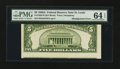 Error Notes:Miscellaneous Errors, Fr. 1962-H $5 1950A Federal Reserve Note. PMG Choice Uncirculated 64 EPQ.. ...