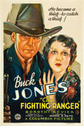 """Movie Posters:Western, The Fighting Ranger (Columbia, 1934). One Sheet (27"""" X 41"""").. ..."""