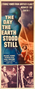 "Movie Posters:Science Fiction, The Day the Earth Stood Still (20th Century Fox, 1951). Insert (14""X 36"").. ..."