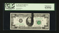Error Notes:Ink Smears, Fr. 2071-D $20 1974 Federal Reserve Note. PCGS Superb Gem New67PPQ.. ...