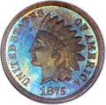 Proof Indian Cents, 1875 1C PR67 Brown NGC....
