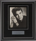 Music Memorabilia:Autographs and Signed Items, Elvis Presley Autographed Photo....