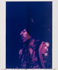 Music Memorabilia:Photos, Jimi Hendrix Photo by Famed Rock Photographer Mick Rock (1968). ...