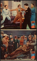 "Movie Posters:Comedy, The Milky Way (Paramount, 1936). Jumbo Lobby Cards (2) (14"" X 17""). Comedy.. ... (Total: 2 Items)"