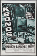 "Movie Posters:Science Fiction, Kronos (20th Century Fox, 1957). One Sheet (27"" X 41""). ScienceFiction.. ..."