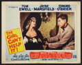 "Movie Posters:Comedy, The Girl Can't Help It (20th Century Fox, 1956). Lobby Card (11"" X 14""). Comedy.. ..."