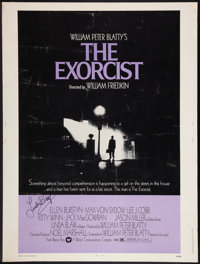 "The Exorcist (Warner Brothers, 1974). Autographed Poster (30"" X 40""). Horror"