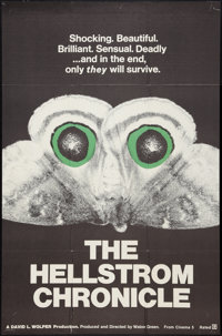 "The Hellstrom Chronicle (Cinema 5, 1971). One Sheet (27"" X 41""). Documentary"