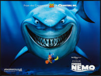 "Finding Nemo (Disney, 2003). British Quad (30"" X 40""). Animated"