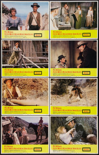 """Hombre (20th Century Fox, 1966). Lobby Card Set of 8 (11"""" X 14""""). Western. ... (Total: 8 Items)"""