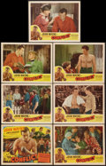 """Movie Posters:Drama, Conflict (Realart, R-1949). Title Lobby Card and Lobby Cards (7) (11"""" X 14""""). Drama.. ... (Total: 7 Items)"""