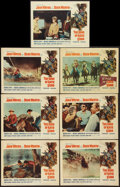 """Movie Posters:Western, The Sons of Katie Elder (Paramount, 1965). Lobby Cards (7) (11"""" X 14""""). Western.. ... (Total: 7 Items)"""