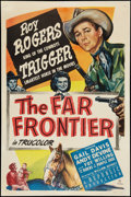 """Movie Posters:Western, The Far Frontier (Republic, 1948). One Sheet (27"""" X 41""""). Western.. ..."""