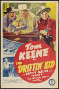 "Movie Posters:Western, The Driftin' Kid (Monogram, 1941). One Sheet (27"" X 41""). Western.. ..."