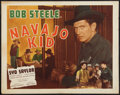 "Movie Posters:Western, Navajo Kid Lot (Alexander-Stern Productions, 1945). Half Sheets (2) (22"" X 28"") and (19"" X 26""). Western.. ... (Total: 2 Items)"