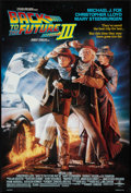 "Movie Posters:Science Fiction, Back to the Future Part III (Universal, 1990). One Sheet (26.75"" X 39.75""). DS. Science Fiction.. ..."