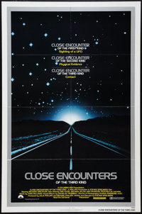 "Close Encounters of the Third Kind (Columbia, 1977). One Sheet (27"" X 41"") and Promotional Item (11"" X 15..."