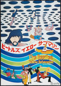"Movie Posters:Animated, Yellow Submarine (United Artists, 1969). Japanese B3 (14.25"" X 20.75""). Animated.. ..."