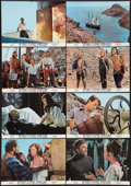 "Movie Posters:Adventure, The Light at the Edge of the World (National General, 1971).British Deluxe Photos (12) (9.5"" X 13.5""). Adventure.. ... (Total:12 Items)"