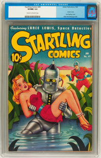 Startling Comics #49 (Better Publications, 1948) CGC VF/NM 9.0 Cream to off-white pages