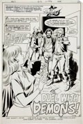 Original Comic Art:Splash Pages, Jose Delbo and Joe Giella Detective Comics #513 BatgirlSplash Page 1 Original Art (DC, 1982)....