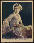 """Movie Posters:Miscellaneous, Marion Davies (MGM, 1920s). Personality Poster (21.75"""" X 28""""). Miscellaneous.. ..."""
