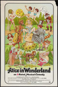 "Movie Posters:Adult, Alice in Wonderland (General National, 1976). One Sheet (27"" X 41"") X-Rated Version. Adult.. ..."