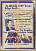 "Movie Posters:Documentary, Unknown Powers (NTA, 1978). Poster (30"" X 42""). Documentary.. ..."