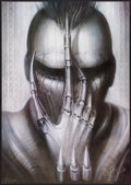 """Movie Posters:Horror, Future-Kill (International Film Marketing, 1985). Numbered and Signed H. R. Giger Lithograph Poster. (26"""" X 37""""). Horror.. ..."""